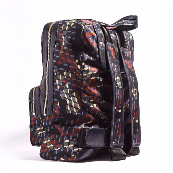 Forest Camocube nylon print PIERRE HARDY CAMOCUBE BACKPACK Factory Outlet
