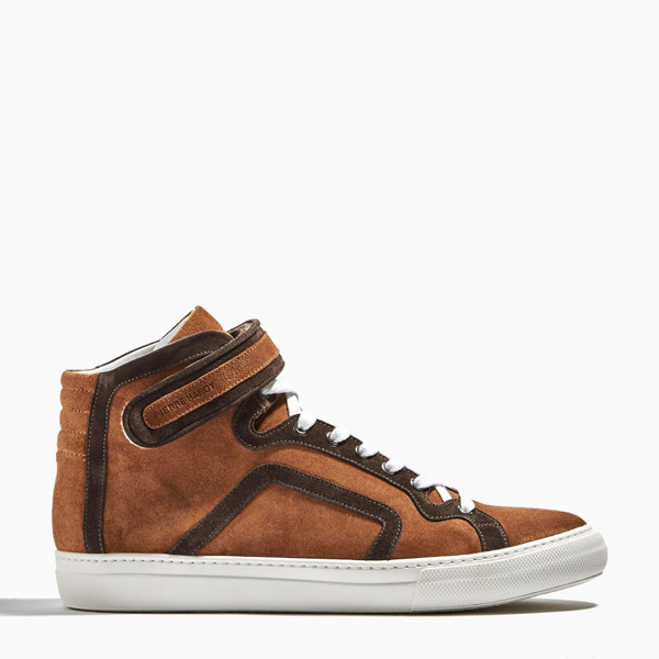 Brown  PIERRE HARDY HIGH TOP SNEAKERS Factory Outlet