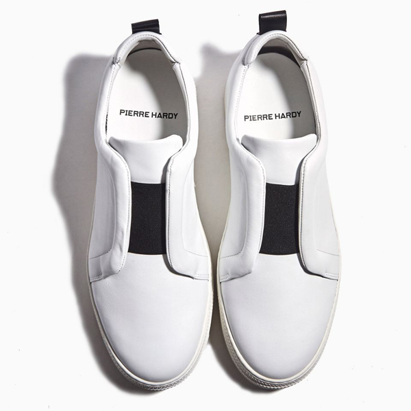 White  PIERRE HARDY SLIDER SNEAKERS Factory Outlet