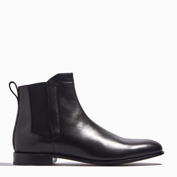 BLACK PIERRE HARDY DRUGSTORE BOOT Factory Outlet