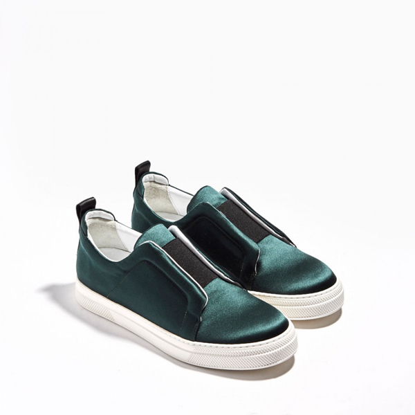 GREEN PIERRE HARDY SLIDER SNEAKERS Factory Outlet