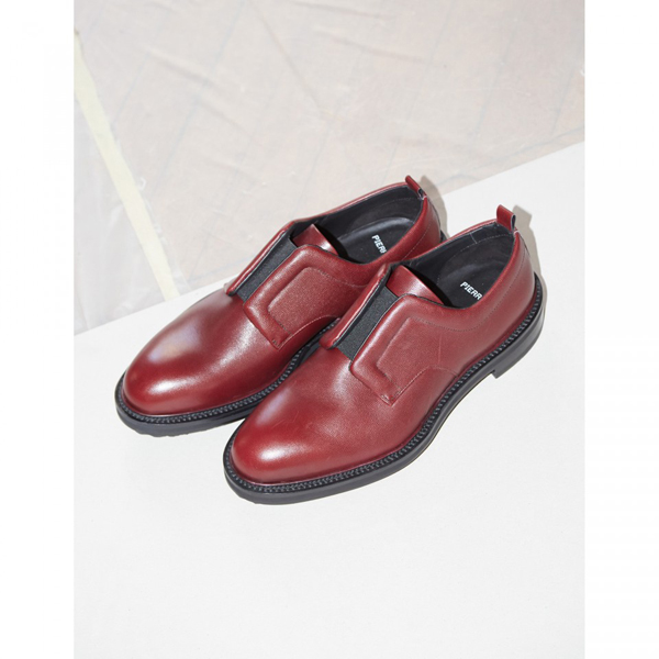 Burgundy PIERRE HARDY MANHATTAN DERBY Factory Outlet