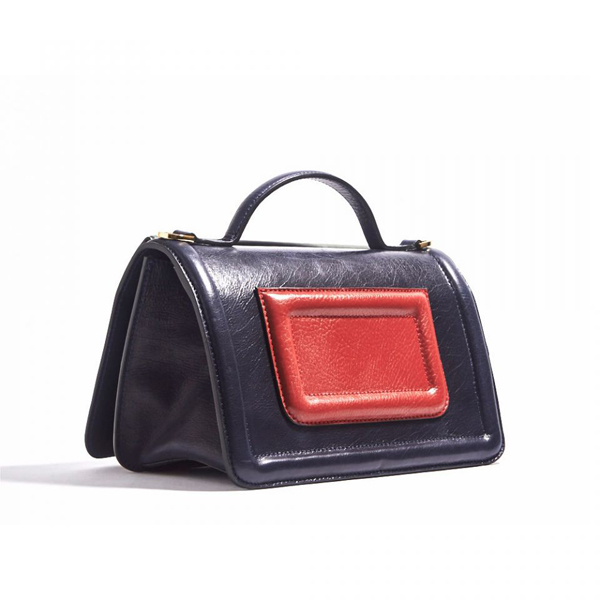 NAVY PIERRE HARDY ALPHA PLUS HANDBAG Factory Outlet