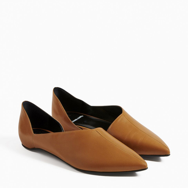 Brown PIERRE HARDY MIRAGE BALLERINA Factory Outlet