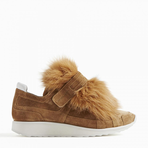 Camel PIERRE HARDY FOX RUNNER SNEAKERS Factory Outlet
