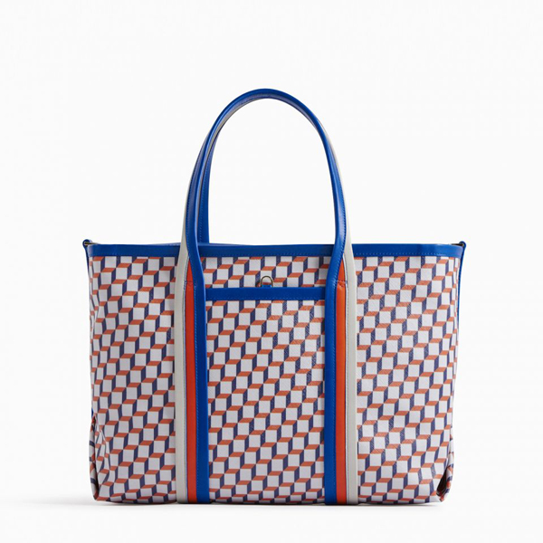 Black Blue red PIERRE HARDY POLYCUBE TOTE Factory Outlet