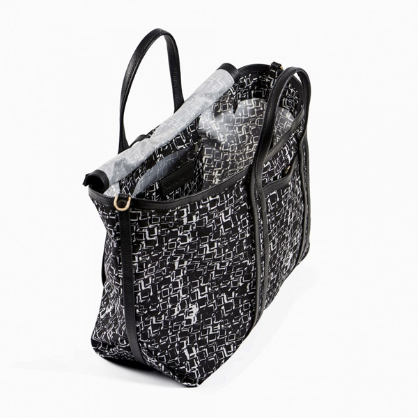 black white PIERRE HARDY POLYCUBE TOTE Factory Outlet