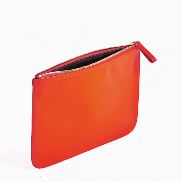 Red PIERRE HARDY PERSPECTIVE CUBE LARGE POUCH Factory Outlet