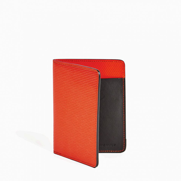 Red PIERRE HARDY PERSPECTIVE CUBE PASSPORT HOLDER Factory Outlet