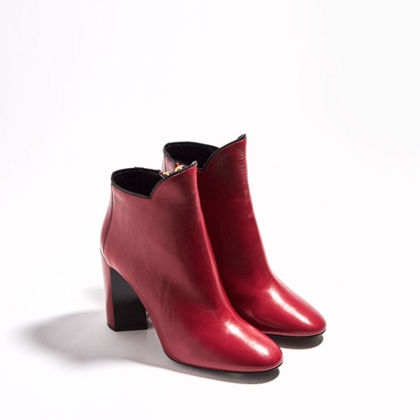 RED PIERRE HARDY BELLE ANKLE BOOT Factory Outlet