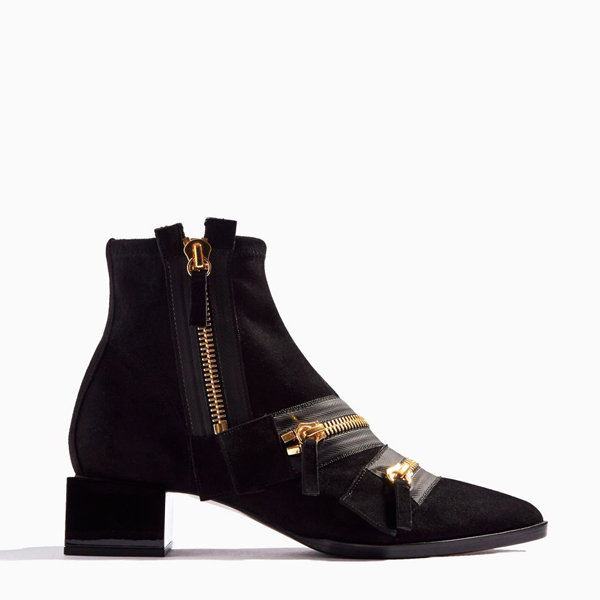 BLACK PIERRE HARDY LOU ANKLE BOOT Factory Outlet
