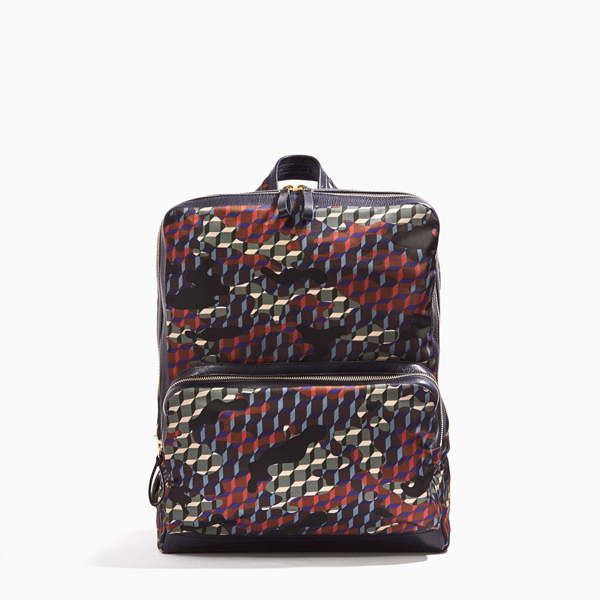 Forest Camocube nylon print PIERRE HARDY CAMOCUBE BACKPACK Outlet Online