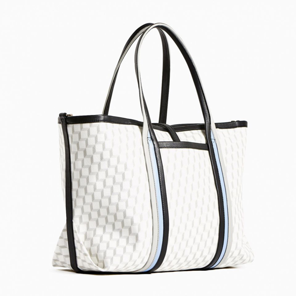White PIERRE HARDY POLYCUBE TOTE Factory Outlet