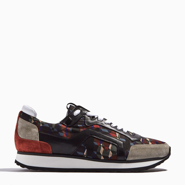 grey & orange PIERRE HARDY TRACK SNEAKERS Factory Outlet