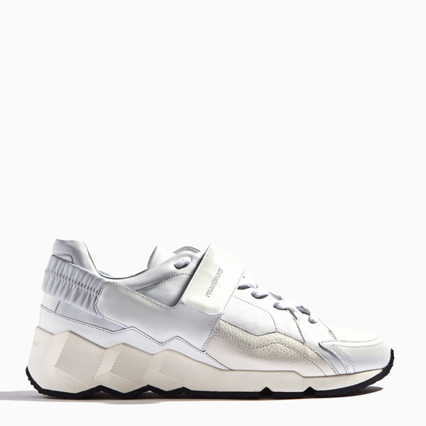 White PIERRE HARDY COMET SNEAKERS Outlet Online