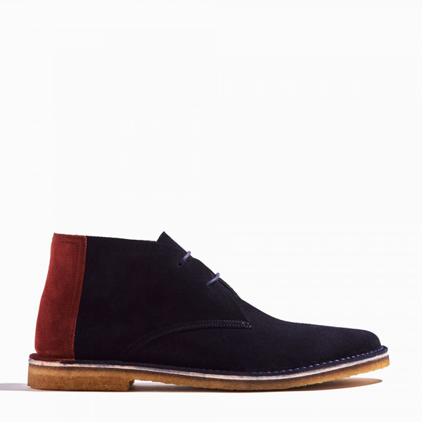 Blue PIERRE HARDY DESERT BOOTS Factory Outlet