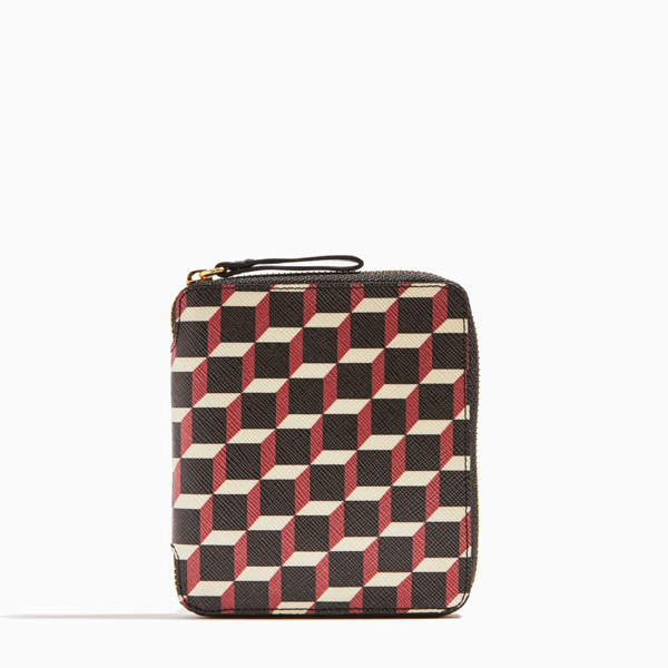 Black & red PIERRE HARDY ZIP WALLET Factory Outlet