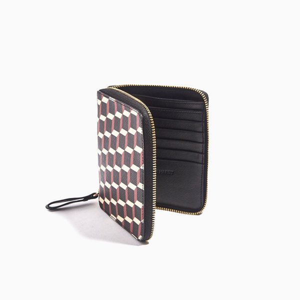 Black & red PIERRE HARDY ZIP WALLET Outlet Online