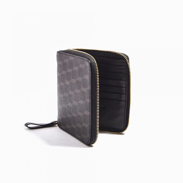 Black PIERRE HARDY PERSPECTIVE CUBE ZIP WALLET Outlet Online