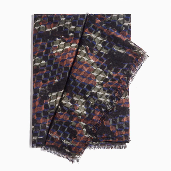 FOREST PIERRE HARDY SCARVE CAMOCUBE Factory Outlet