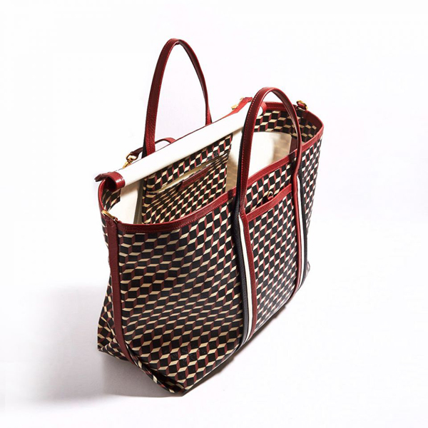 RED PIERRE HARDY POLYCUBE TOTE Outlet Online