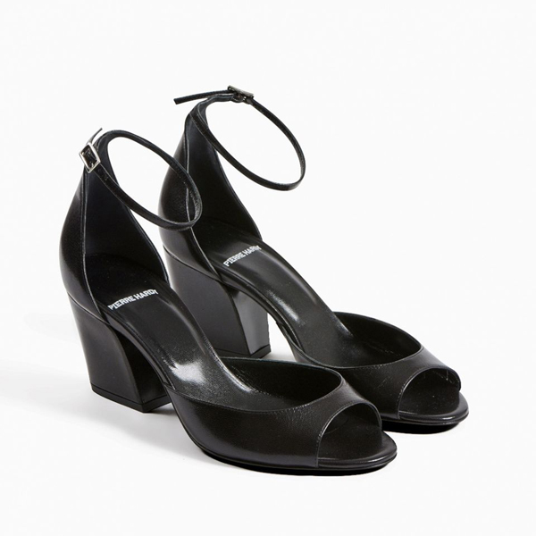 Black PIERRE HARDY CALAMITY SANDAL Factory Outlet