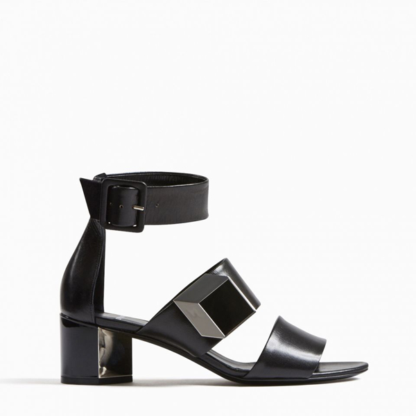 Black PIERRE HARDY DE D'OR ILLUSION SANDAL Outlet Online