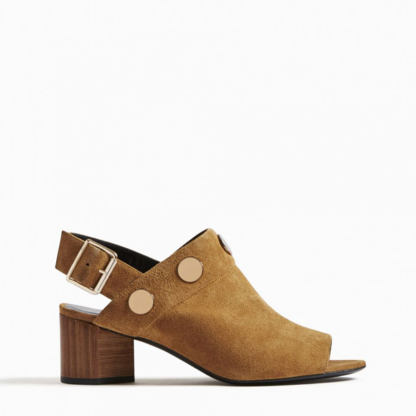 METAL BROWN PIERRE HARDY PENNY SANDAL Outlet Online