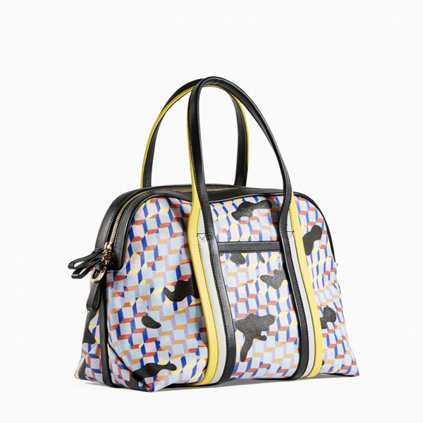 Yellow blue black PIERRE HARDY RALLY HANDBAG Outlet Online