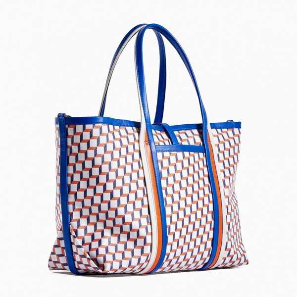 Black Blue red PIERRE HARDY POLYCUBE TOTE Outlet Online