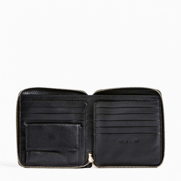 White blue PIERRE HARDY ZIP WALLET Factory Outlet