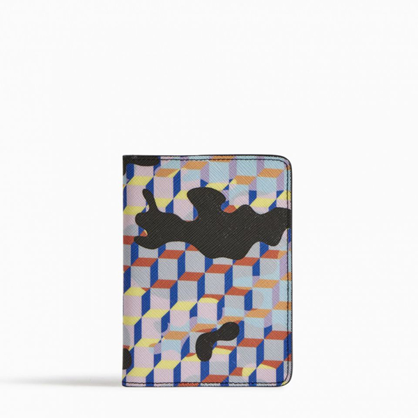 Multicolor PIERRE HARDY CAMOCUBE PASSPORT HOLDER Factory Outlet