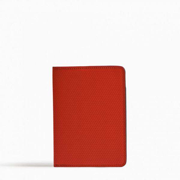 Red PIERRE HARDY PERSPECTIVE CUBE PASSPORT HOLDER Outlet Online