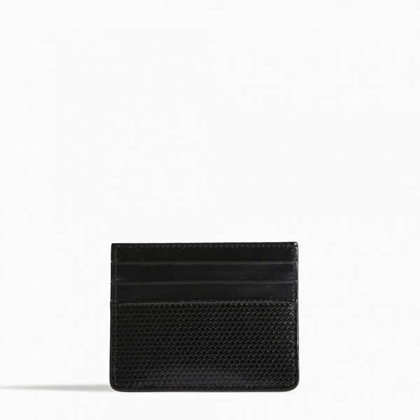 Black PIERRE HARDY PERSPECTIVE CUBE CARD CASE Outlet Online
