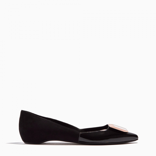 Black PIERRE HARDY DE D'OR BALLERINA Factory Outlet