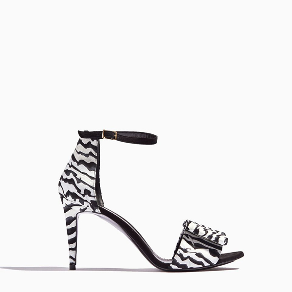 Black & white PIERRE HARDY OBI SANDAL Factory Outlet