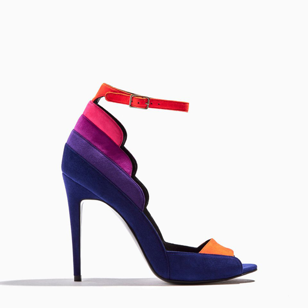 NAVY PIERRE HARDY ROXY SANDAL 105 MM Factory Outlet