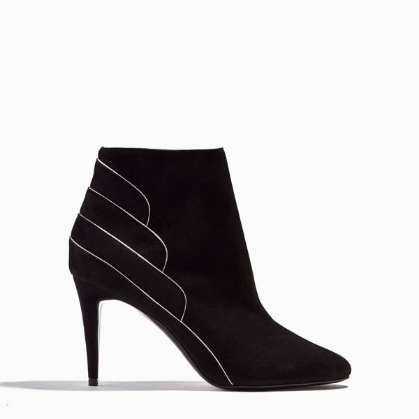 BLACK SILVER PIERRE HARDY ROXY ANKLE BOOT Outlet Online