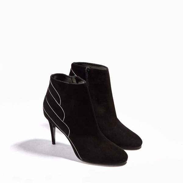 BLACK SILVER PIERRE HARDY ROXY ANKLE BOOT Factory Outlet