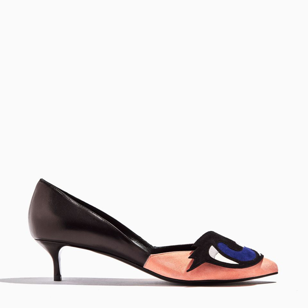 pink & black PIERRE HARDY OH ROY PUMP Outlet Online